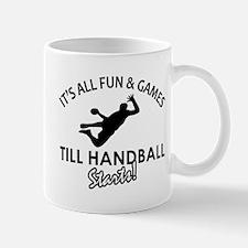 Hand Ball enthusiast designs Mug