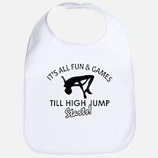 High Jump enthusiast designs Bib
