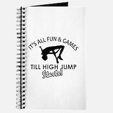 High Jump enthusiast designs Journal