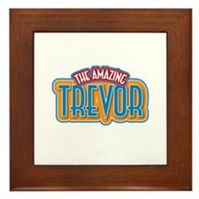 The Amazing Trevor Framed Tile
