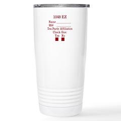 1040 EZ Travel Mug