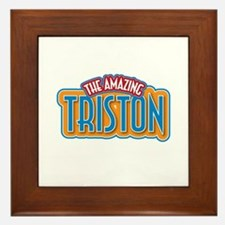 The Amazing Triston Framed Tile