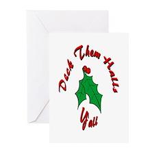 Deck Them Halls Greeting Cards (Pk of 10)