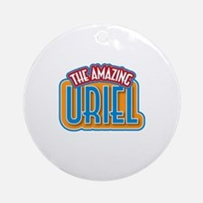 The Amazing Uriel Ornament (Round)
