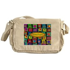 Retired Teacher Messenger Bag