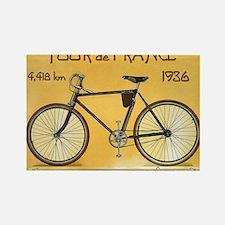 Tour de France, Bicycle, Vintage Poster Rectangle
