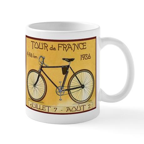 Tour de France, Bicycle, Vintage Poster Mug
