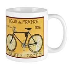 Tour de France, Bicycle, Vintage Poster Mug