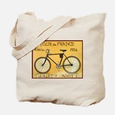 Tour de France, Bicycle, Vintage Poster Tote Bag