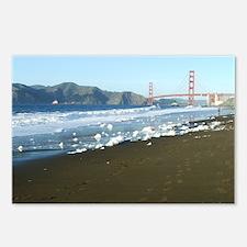 Golden Gate Bridge Sudsy Shoreline Postcards (Pack