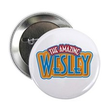 "The Amazing Wesley 2.25"" Button (10 pack)"
