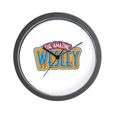 The Amazing Wesley Wall Clock