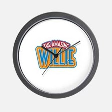 The Amazing Willie Wall Clock