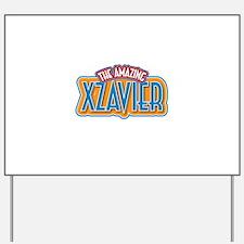 The Amazing Xzavier Yard Sign