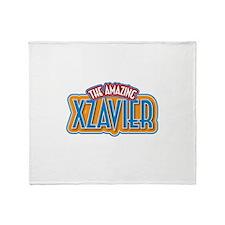 The Amazing Xzavier Throw Blanket