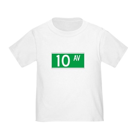 10th Ave., New York - USA Toddler T-Shirt