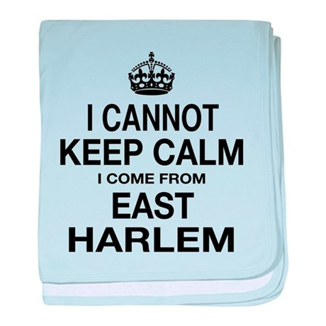 East Harlem baby blanket