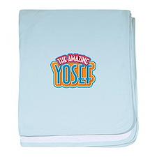 The Amazing Yosef baby blanket