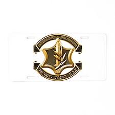 Cute International brigades Aluminum License Plate