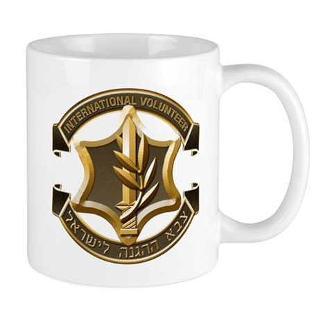 IDF International Volunteer Emblem Mug