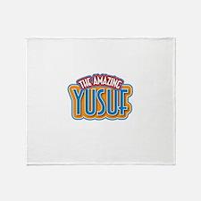 The Amazing Yusuf Throw Blanket