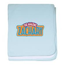 The Amazing Zackary baby blanket