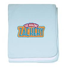 The Amazing Zackery baby blanket