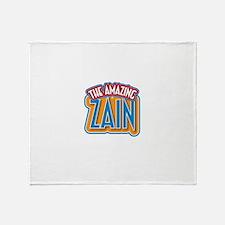 The Amazing Zain Throw Blanket