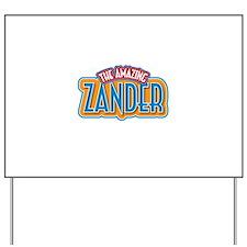 The Amazing Zander Yard Sign