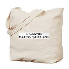 Survived Dating Stephanie Tote Bag