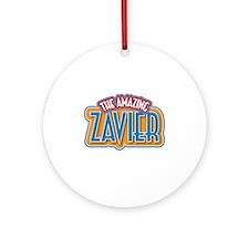 The Amazing Zavier Ornament (Round)