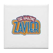 The Amazing Zavier Tile Coaster