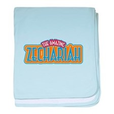 The Amazing Zechariah baby blanket