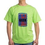 GEEK DESIGN Green T-Shirt
