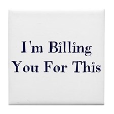 Billing Tile Coaster