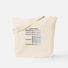 Simple Baby Owner's Manual Tote Bag