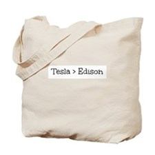 Tesla > Edison Tote Bag