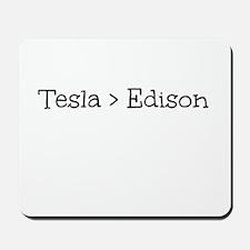 Tesla > Edison Mousepad