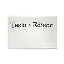 Tesla > Edison Rectangle Magnet