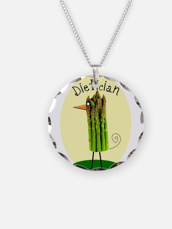 Dietician Bird 1 Necklace