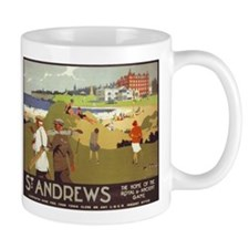Saint Andrews, Golf, Vintage Poster Mug