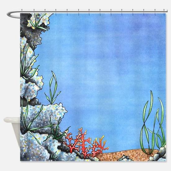 Mysterious Ocean Floor Shower Curtain
