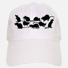 Lots Of Rats Baseball Baseball Cap