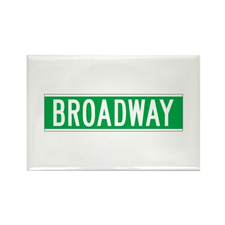 Broadway, New York - USA Rectangle Magnet