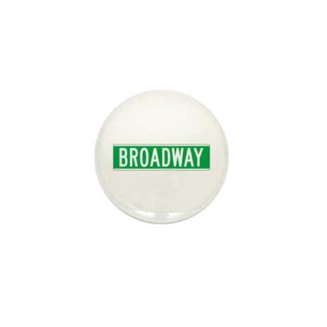 Broadway, New York - USA Mini Button