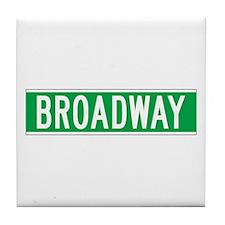 Broadway, New York - USA Tile Coaster