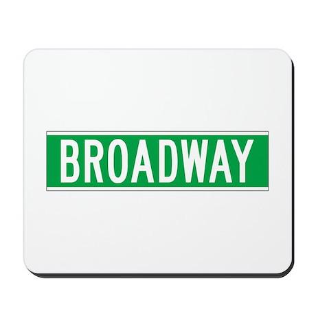 Broadway, New York - USA Mousepad