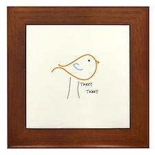 Tweet Tweet Framed Tile