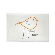 Tweet Tweet Rectangle Magnet