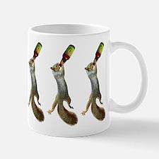 Squirrel Drinking Beer Mug